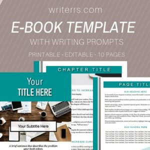 Our ebook writing and design templates make publishing an ebook fast and easy.