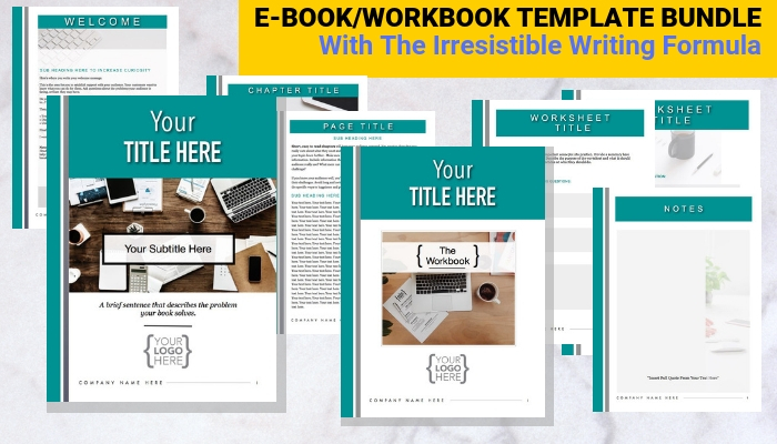 Ebook Templates With The Irresistible Writing Formula from Writerrs.com