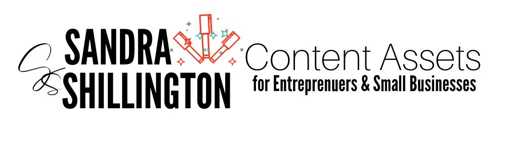 Sandra Shillington | Content Assets for Entrepreneurs